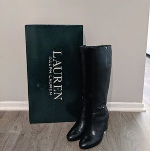 Lauren Ralph Lauren Tamora Wedge Boot